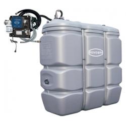 Cuve stockage 1500L+ Pompe
