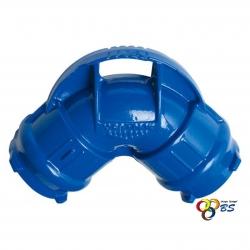 COUDE FONTE 1/4 90 DEGRES PVC
