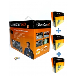 KIT FARMCAM HD 4 CAMERAS...
