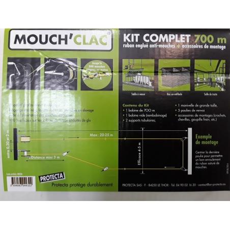 MOUCHCLAC KIT COMPLET 700M
